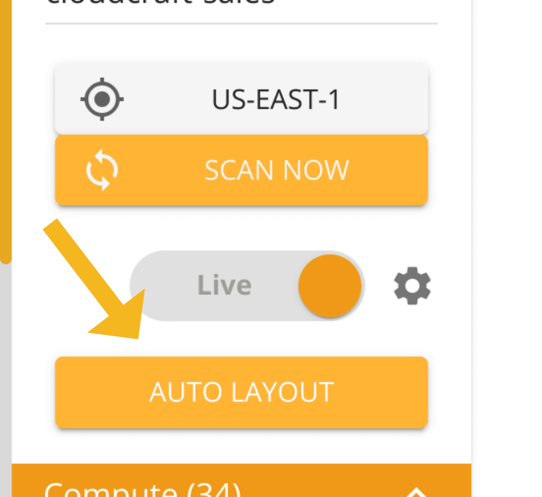 The Auto Layout button
